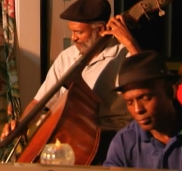 Photo of Jazz musicians performing at Northside Bistro Restaurant Brewery in St. Thomas US Virgin Islands