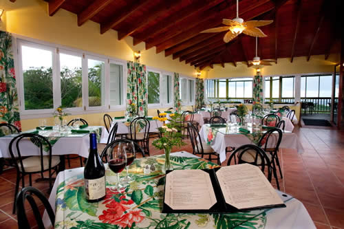 Photo of the interior of Northside Bistro Restaurant Brewery in St. Thomas US Virgin Islands